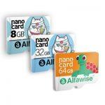 Karta pamięci Micro SDHC Alfawise 8GB w Gearbest
