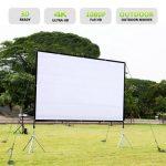 [PL] Ekran projekcyjny Excelvan 100 cali w Gearbest