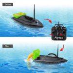 Łódka do zanęcania zdalnie sterowana Flytec HQ2011-5 w Gearbest