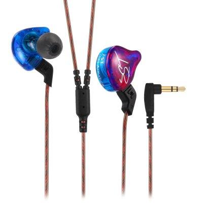 kz zst earphones