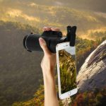 Zoom optyczny do telefonu PANDA 35 x 50 HD w Gearbest