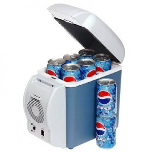 HUANJIE 12V 7.5L Capacity Portable Car Refrigerator Cooler Warmer