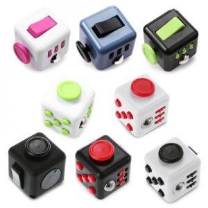 PIECE FUN ABS Stress Reliever Fidget Cube