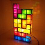 Lampa nocna LED DIY Tetris w Gearbest