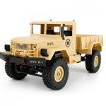 Ciężarówka wojskowa zdalnie sterowana WPL B-1  w Gearbest