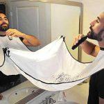 Fartuch ochronny do golenia brody w Gearbest