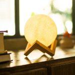 Lampa 3D księżyc w Zapals