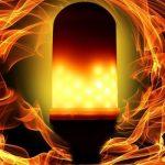 Żarówka LED ogień Utorch w Gearbest