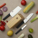 [EU-CZ] Zestaw 3 noży kuchennych w bloku Xiaomi HUOHOU w Banggood